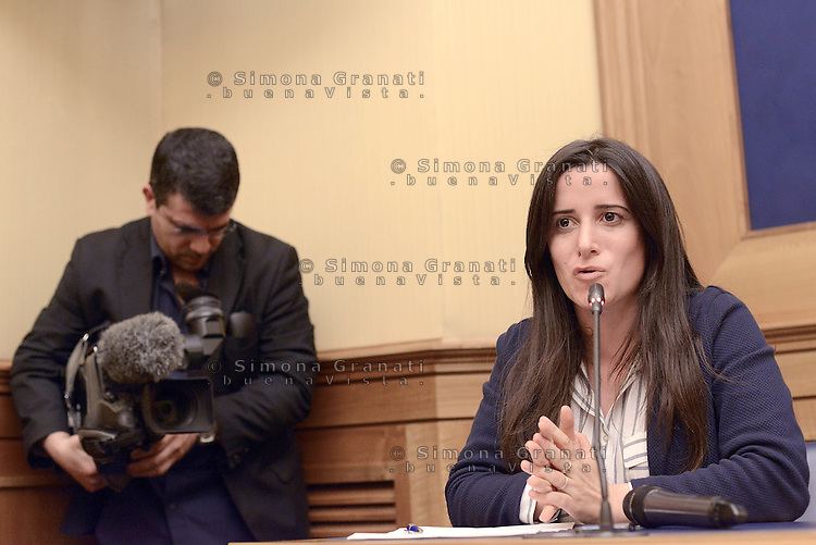 Roma, 1 Giugno 2015<br /> Antonella Laricchia candidata M5S alla Presidenza della Regione Puglia.<br /> Laricchia.