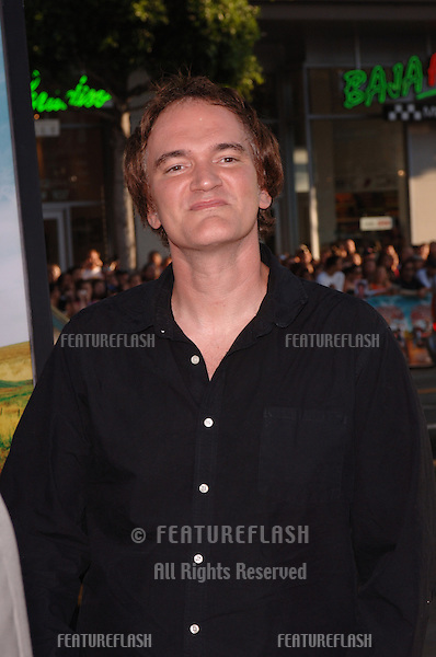 Director QUENTIN TARANTINO at the Los Angeles premiere of The Dukes of Hazzard..July 28, 2005 Los Angeles, CA.© 2005 Paul Smith / Featureflash