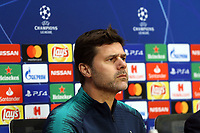 Tottenham Hotspur manager:Mauricio Pochettino during a Press Conference at the Johan Cruyff Arena on 7th May 2019
