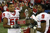 January 5th, 2008:  after the International Bowl at the Rogers Centre in Toronto, Ontario Canada...Rutgers defeated Ball State 52-30.  ..Photo By:  Mike Janes Photography