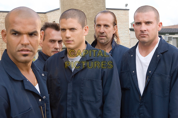 "AMAURY NOLASCO, ROBERT KNEPPER, WENTWORTH MILLER, PETER STORMARE & DOMINIC PURCELL.in Prison Break.""Tweener"".*Editorial Use Only*.www.capitalpictures.com.sales@capitalpictures.com.Supplied by Capital Pictures."