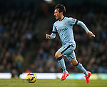 David Silva of Manchester City - Barclays Premier League - Manchester City vs Newcastle Utd - Etihad Stadium - Manchester - England - 21st February 2015 - Picture Simon Bellis/Sportimage