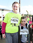 Lauren O'Hare and Eleanor Kane pictured at the Wild Goose Chase at Reaghstown. Photo:Colin Bell/pressphotos.ie