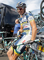 Bertjan Lindeman during the stage of La Vuelta 2012 between Vilagarcia de Arousa and Mirador de Erazo (Dumbria).August 30,2012. (ALTERPHOTOS/Acero) /NortePhoto.com<br />