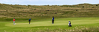 Jordan Hood (Galgorm Castle) on the 8th green during Round 2 of The East of Ireland Amateur Open Championship in Co. Louth Golf Club, Baltray on Sunday 2nd June 2019.<br /> <br /> Picture:  Thos Caffrey / www.golffile.ie<br /> <br /> All photos usage must carry mandatory copyright credit (© Golffile   Thos Caffrey)