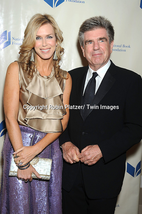 Kathy Freston and Tom Freston attending The 2010 National Book Awards on November 17, 2010 at Cipriani Wall Street in New York City.