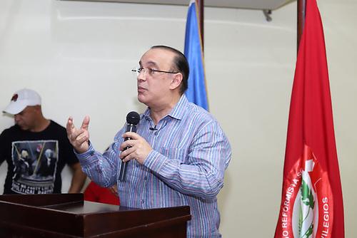 El presidente del Partido Reformista Social Cristiano (PRSC), ingeniero Federico Antún Batlle (Quique)