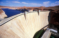 USA, Arizona, Page, Glen Canyon Dam