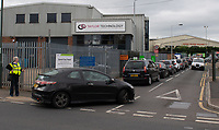 Long queues at Foots Cray recycling centre - 13.05.2020