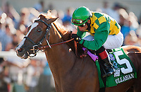 Dullahan with Joel Rosario up wins the Pacific Classic at Del Mar Race Course in Del Mar, California on August 26, 2012.