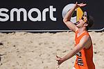 10.05.2015, Muenster, Schlossplatz<br /> smart beach tour, Supercup MŸnster / Muenster, Halbfinale<br /> <br /> Lars FlŸggen / Flueggen<br /> <br />   Foto &copy; nordphoto / Kurth