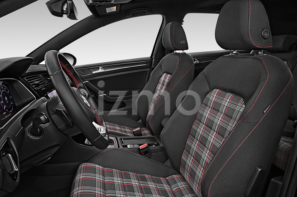 Front seat view of 2018 Volkswagen Golf-GTI-Performance - 5 Door Hatchback Front Seat  car photos