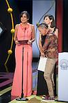 Elena Sanchez and Marian Alvarez during the official ceremony of the 63rd Donostia Zinemaldia Festival (San Sebastian International Film Festival) in San Sebastian, Spain. September 26, 2015. (ALTERPHOTOS/Victor Blanco)