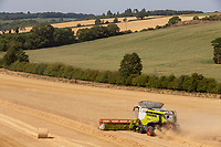 Claas Lexion 780 working in Suffolk<br />