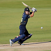 Joe Denly bats for Kent during the Vitality Blast T20 game between Kent Spitfires and Essex Eagles at the St Lawrence Ground, Canterbury, on Thu Aug 2, 2018