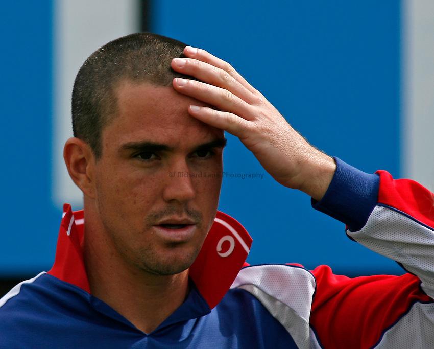 Photo: Glyn Thomas..England v Sri Lanka. nPower Test Match Series. 28/05/2006..England's Kevin Pietersen.
