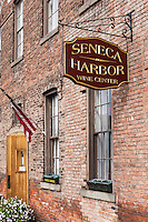 Seneca Harbor Wine Center, Watkins Glen, New York, USA