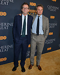 "Jason Clarke, Philip Martin 019 attends the Los Angeles Premiere Of The New HBO Limited Series ""Catherine The Great"" at The Billy Wilder Theater at the Hammer Museum on October 17, 2019 in Los Angeles, California."