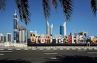 Trade Centre Road in Dubai