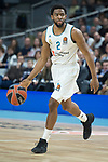 Real Madrid Chasson Randle during Turkish Airlines Euroleague match between Real Madrid and Brose Bamberg at Wizink Center in Madrid, Spain. April 06, 2018. (ALTERPHOTOS/Borja B.Hojas)