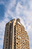 SERBIA, Belgrade, An old apartment building in Novi Beograd or New Belgrade, Eastern Europe