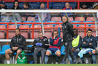 Wycombe Wanderers Manager Gareth Ainsworth during the pre season friendly match between Aldershot Town and Wycombe Wanderers at the EBB Stadium, Aldershot, England on 22 July 2017. Photo by Andy Rowland.