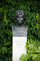 A detail of a bust of the last British Ladies' winner, Virginia Wade<br /> <br /> Photographer Ashley Western/CameraSport<br /> <br /> Wimbledon Lawn Tennis Championships - Day 12 - Saturday 15th July 2017 -  All England Lawn Tennis and Croquet Club - Wimbledon - London - England<br /> <br /> World Copyright &not;&copy; 2017 CameraSport. All rights reserved. 43 Linden Ave. Countesthorpe. Leicester. England. LE8 5PG - Tel: +44 (0) 116 277 4147 - admin@camerasport.com - www.camerasport.com