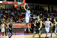 GRONINGEN - Basketbal, Donar - Den Helder Suns, Martiniplaza, Dutch Basketbal League,  seizoen 2018-2019, 27-11-2018,  dunk van Donar speler Grant Sitton