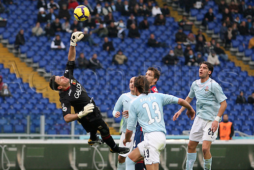 13th December 2009: Alessio Scarpi goalkeeper Genoa in game action during the match for the Italian Serie A Soccer Lazio V.Genoa at the Olympic Satadium,Rome.Photo by Leonardo Cavallo/ActionPlus - Worldwide Editorial