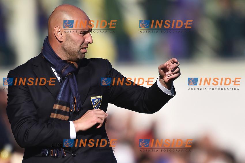 Roberto Stellone Frosinone <br /> Firenze 01-11-2015 Stadio Artemio Franchi Football Calcio Serie A 2015/2016 Fiorentina - Frosinone Foto Andrea Staccioli / Insidefoto