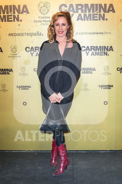 "Spanish Actress Miriam Diaz Aroca  attend the Premiere of the movie ""Carmina y Amen"" at the Callao Cinema in Madrid, Spain. April 28, 2014. (ALTERPHOTOS/Carlos Dafonte)"