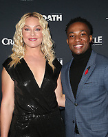 CULVER CITY, CA - MARCH 7: Elisabeth Rohm, Arlen Escarpeta, pictured at Crackle's The Oath Premiere at Sony Pictures Studios in Culver City, California on March 7, 2018. <br /> CAP/MPIFS<br /> &copy;MPIFS/Capital Pictures
