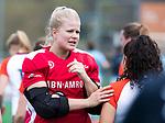 ALMERE - Hockey - Overgangsklasse competitie dames ALMERE- ROTTERDAM (0-0) . Almere keeper Danielle van der Poel.   COPYRIGHT KOEN SUYK