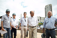 SAO PAULO, SP - 04.02.2017 - ALCKMIN-SP - O Governador do Estado de S&atilde;o Paulo, Geraldo Alckmin, visitou as obras da esta&ccedil;&atilde;o Brooklin do Metro, na manha deste s&aacute;bado (04) na zona sul da capital. A esta&ccedil;&atilde;o tem previs&atilde;o para ser entregue em julho e ampliando as esta&ccedil;&otilde;es j&aacute; em funcionamento da linha 5 lil&aacute;s do Metro.<br /> <br /> (Foto: Fabricio Bomjardim / Brazil Photo Press)