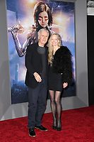 "LOS ANGELES - FEB 5:  James Cameron, Suzy Amis at the ""Alita: Battle Angel"" Premiere at the Village Theater on February 5, 2019 in Westwood, CA"