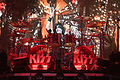 "SUNRISE FL - AUGUST 06: Eric Singer of KISS performs during ""The End Of The Road World Tour"" at The BB&T Center on August 6, 2019 in Sunrise, Florida. Photo by Larry Marano © 2019"