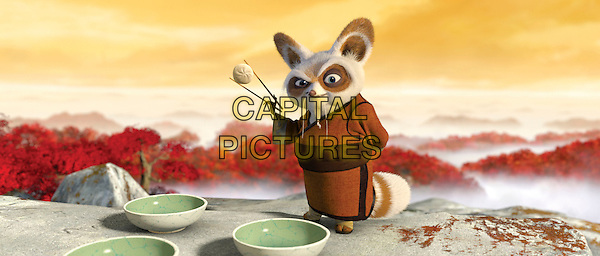 SHIFU (voiced by Dustin Hoffman).in Kung Fu Panda.*Filmstill - Editorial Use Only*.CAP/PLF.Supplied by Capital Pictures.