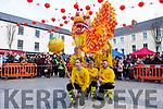 Lion & Dragon Ritual in the square in Tralee on Saturday.