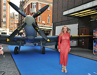 Carol Vorderman at the &quot;Spitfire&quot; world film premiere, Curzzon Mayfair, Curzon Street, London, England, UK, on Monday 09 July 2018.<br /> CAP/CAN<br /> &copy;CAN/Capital Pictures