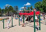 Plaża miejska w Gdyni, PLAC ZABAW DLA DZIECI.