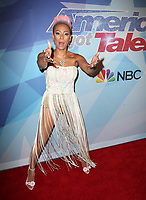 HOLLYWOOD, CA - AUGUST 29: Mel B at America's Got Talent Season 12 Live Show Red Carpet at The Dolby Theater in Hollywood, California on August 29, 2017. Credit: Faye Sadou/MediaPunch