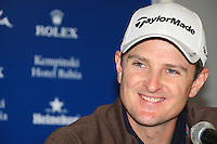 Justin Rose (ENG) during the pro-am at the  Andalucía Masters at Club de Golf Valderrama, Sotogrande, Spain. .Picture Fran Caffrey www.golffile.ie