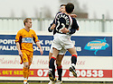 22/04/2006         Copyright Pic: James Stewart.File Name : sct_jspa03_falkirk_v_motherwell.ALAN GOW IS CONGRATULATED AFTER HE SCORES FALKIRK'S FIRST..... Payments to :.James Stewart Photo Agency 19 Carronlea Drive, Falkirk. FK2 8DN      Vat Reg No. 607 6932 25.Office     : +44 (0)1324 570906     .Mobile   : +44 (0)7721 416997.Fax         : +44 (0)1324 570906.E-mail  :  jim@jspa.co.uk.If you require further information then contact Jim Stewart on any of the numbers above.........