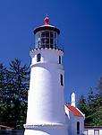 Umpqua River Lighthouse (1894) at Umpqua Lighthouse State Park near Reedsport, Douglas County, OR