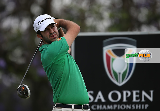 Jorge Campillo (ESP) during the practice day at the SA Open Championship 2013 at the Glendower Golf Club, Johannesburg, South Africa. Picture:  David Lloyd / www.golffile.ie