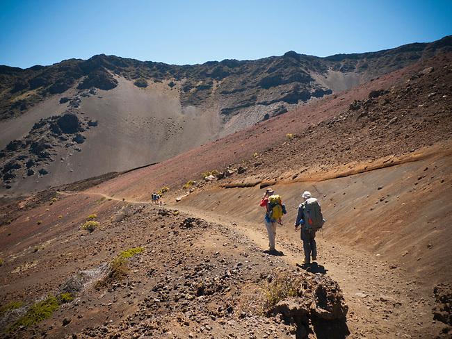 Halakala crater, Maui, Hawaii