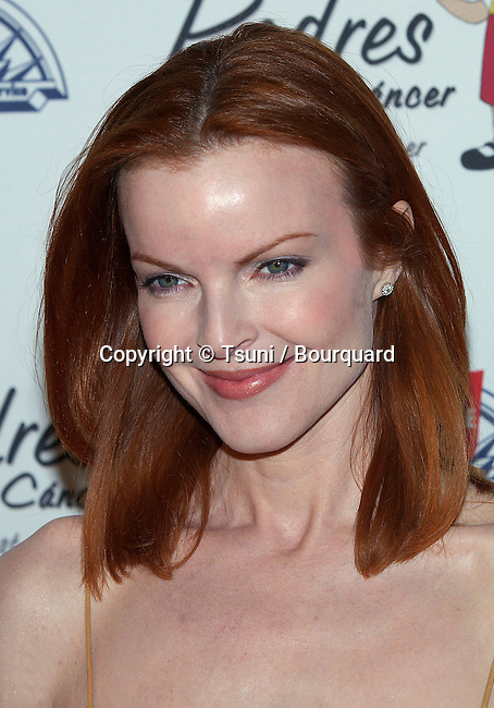 Marcia Cross at the Padres Contra El Cancer at the Skirtball in Los Angeles. March 31, 2005.