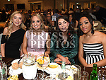 Mary McKeever, Hannah Gregory, Katie Tiernan and Chloe Reilly at the Naomh Mairtin reunion in the Monasterboice Inn. Photo:Colin Bell/pressphotos.ie