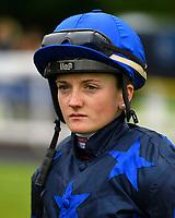 Jockey Hollie Doyle during Evening Racing at Salisbury Racecourse on 11th June 2019