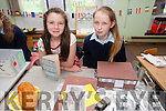 A showcase  on Germany  by students of CURROW NS Laura Manley and Markie Lilly O'Connor part of European Flag project on Thursday
